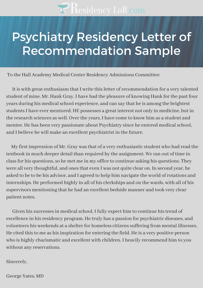 recommendation letter sample for school