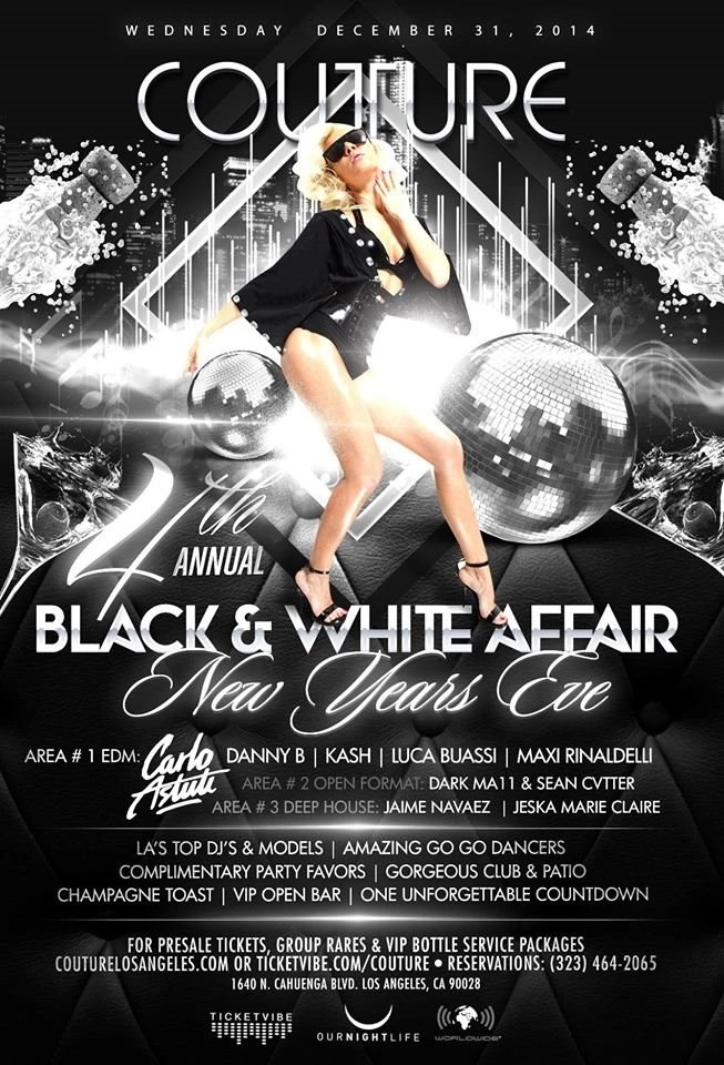 black and white party flyers - Intoanysearch