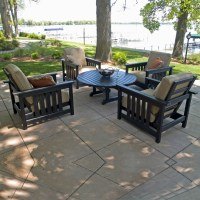 Recycled Plastic Furniture Sets, Outdoor, Patio, Pool ...
