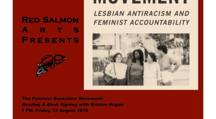 Flyer Feminist Bookstore Movement
