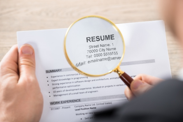 resume objective mistakes