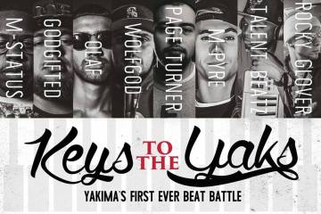 yakima beat battle - keys to the yaks