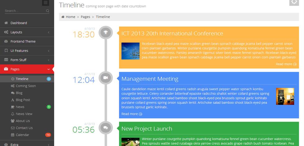 Calendar Design Jquery Pretty Event Calendar Datepicker Plugin For Jquery Metronic Theme Responsive Admin Dashboard Template