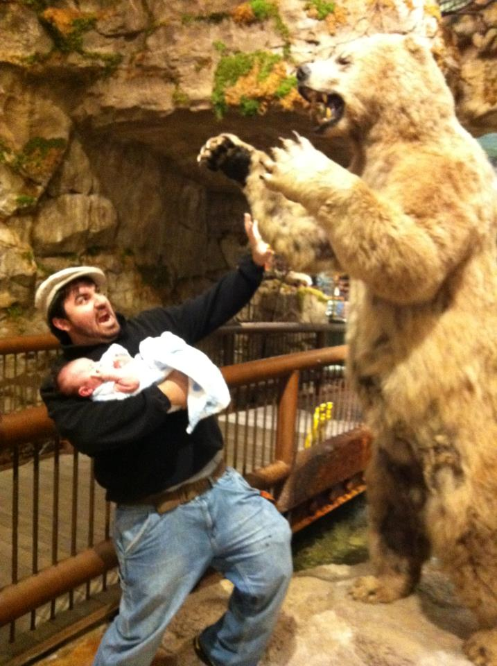 Saving my son from a bear