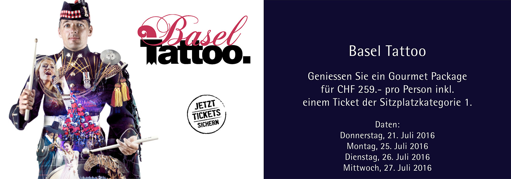 Basel Tattoo 2016