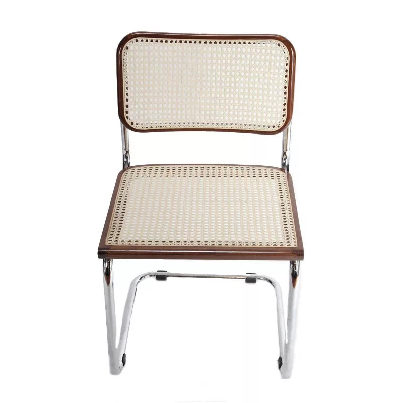 Breuer Metal Chair With Cane Seat And Back Restaurant