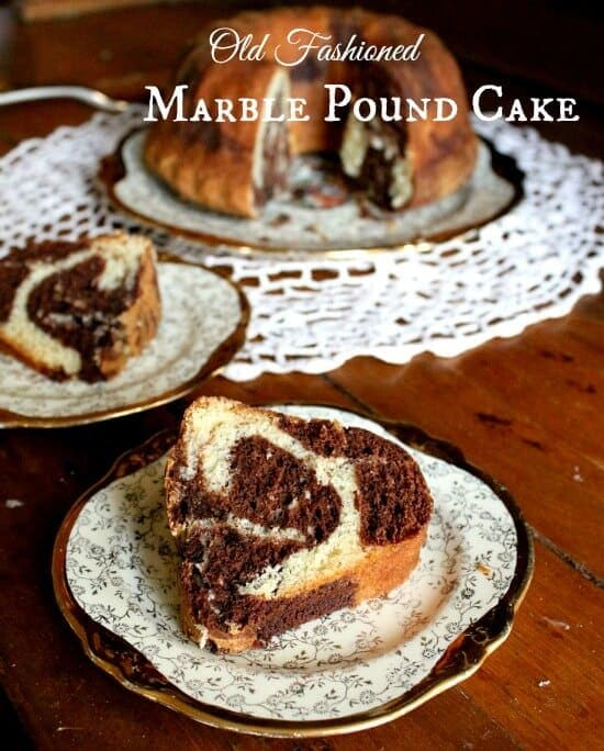 believe it or not marble cake is one of the first cakes i ever made ...