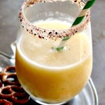 frozen tropical margarita with banana and citrus is creamy, frozen goodness in a glass. Restlesschipotle.com