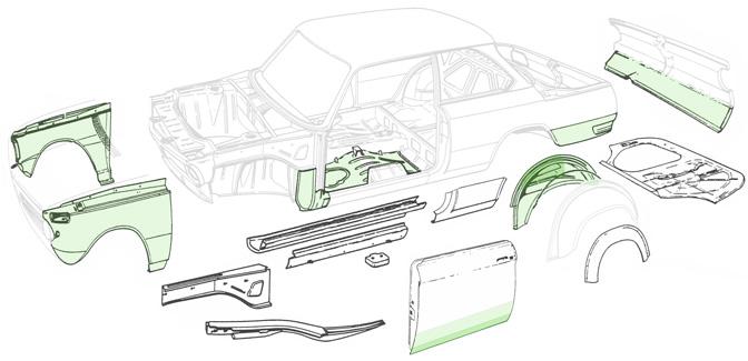 BMW Parts Restoration Design Inc