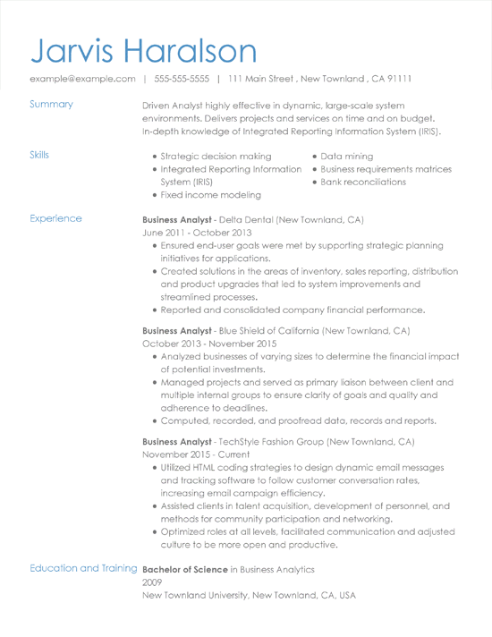 resume unprofessional email address