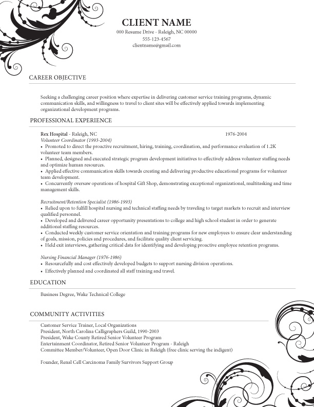 cosmetology resume samples 30042017