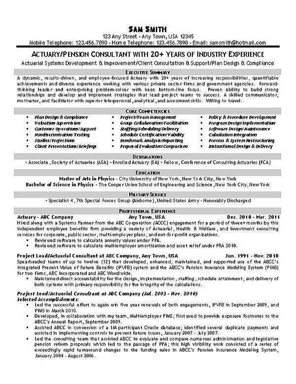 Resume Example - data analyst sample resume