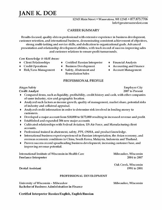 resume writing for ex offenders