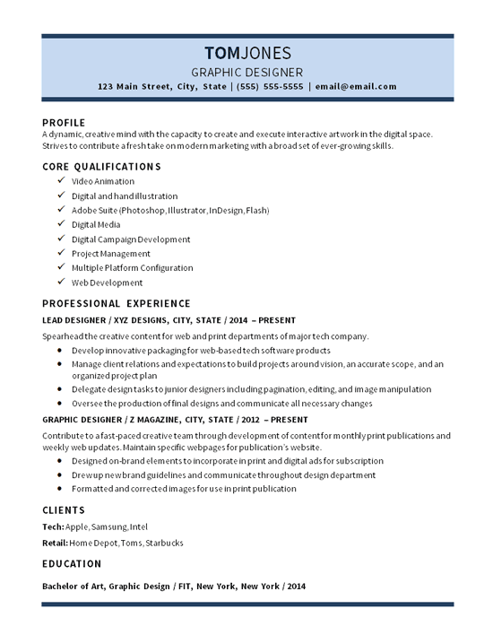 Teacher Resume And Cover Letter Examples Lead Graphic Designer Resume Example Digital Media Video