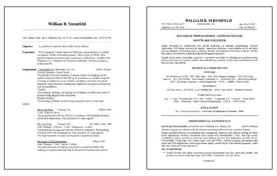 Database Administration Resume Example - Database Administrator Resume