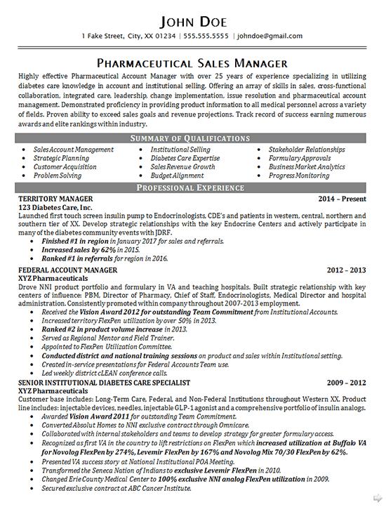 construction sales resume sample