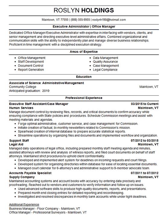 keywords on resume