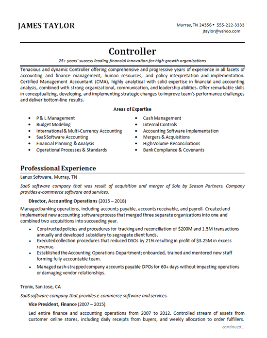 one job experience resume examples