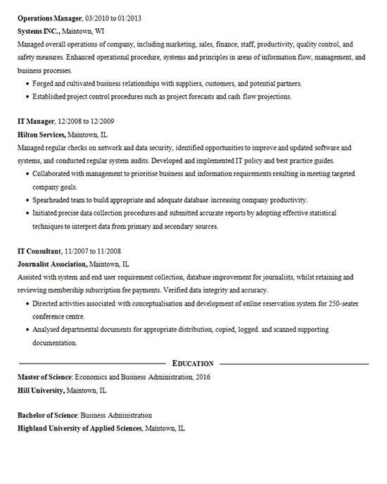 data mining resume samples