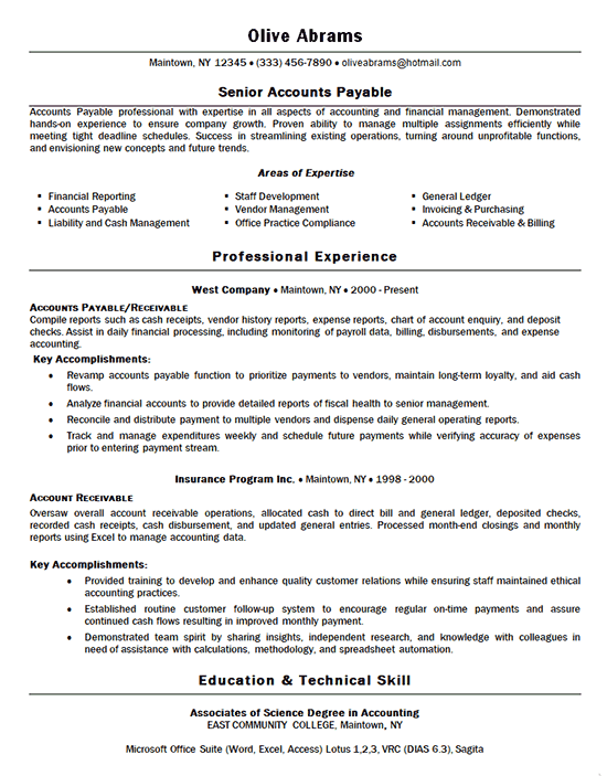 examples of resume marketing job