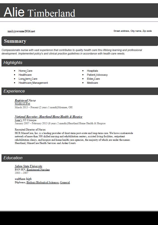 The best resume format always have acquired first place for an - Best Resume Format Download