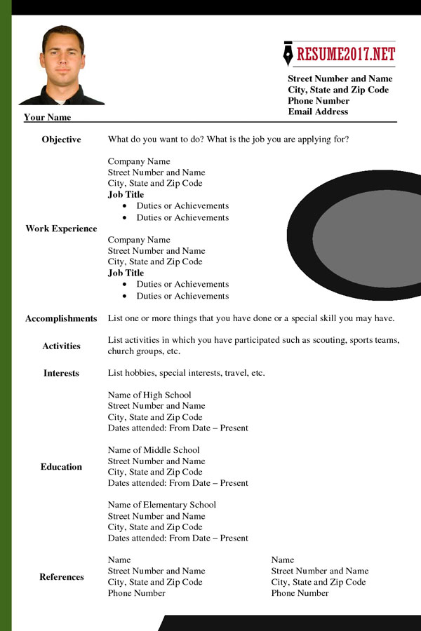Updated Resume Format 2017 What\u0027s NEW? - updated resume templates