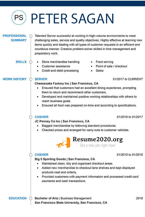 fucntional resume