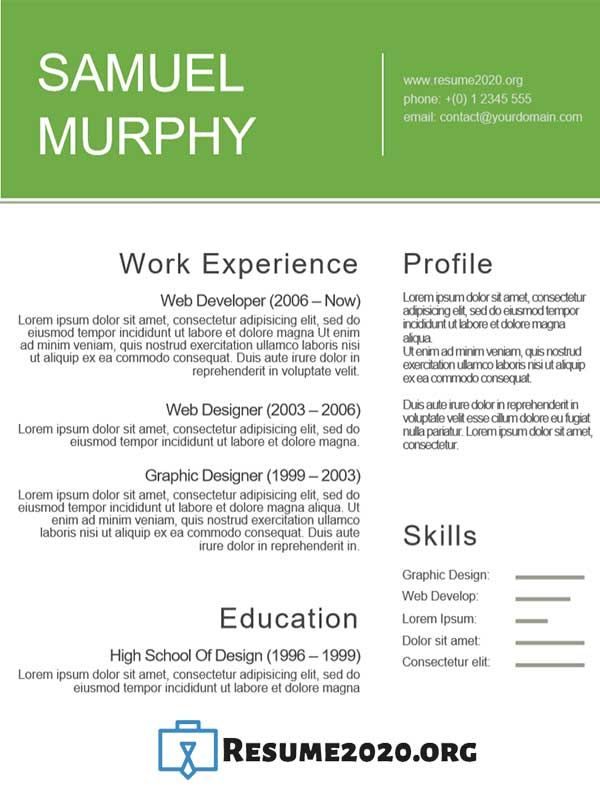 types of skills for a resumes