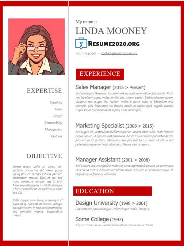 examples types of resumes