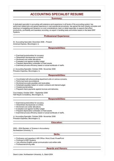princeton resume sample