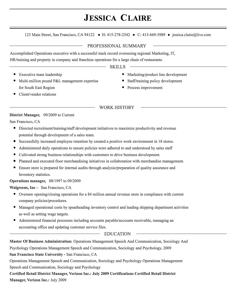 sharp resume templates online free