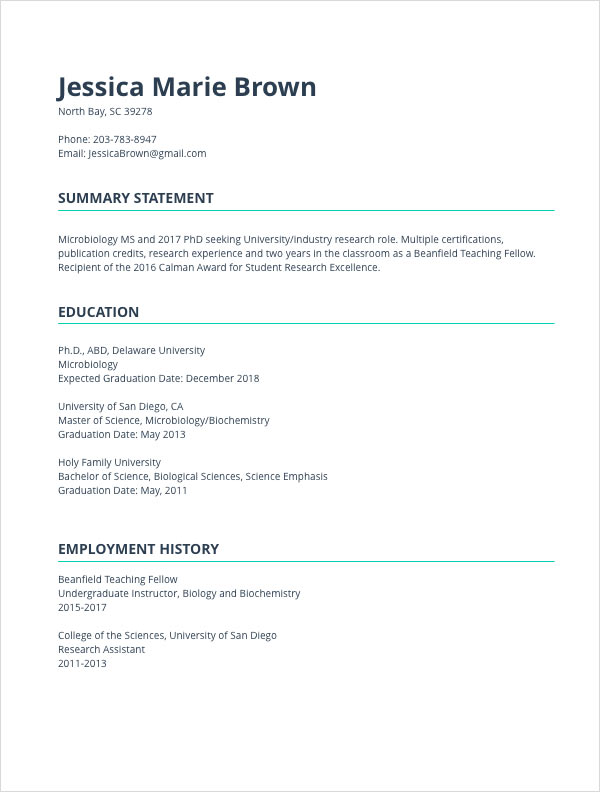 CV Templates - Resume Builder with examples and templates
