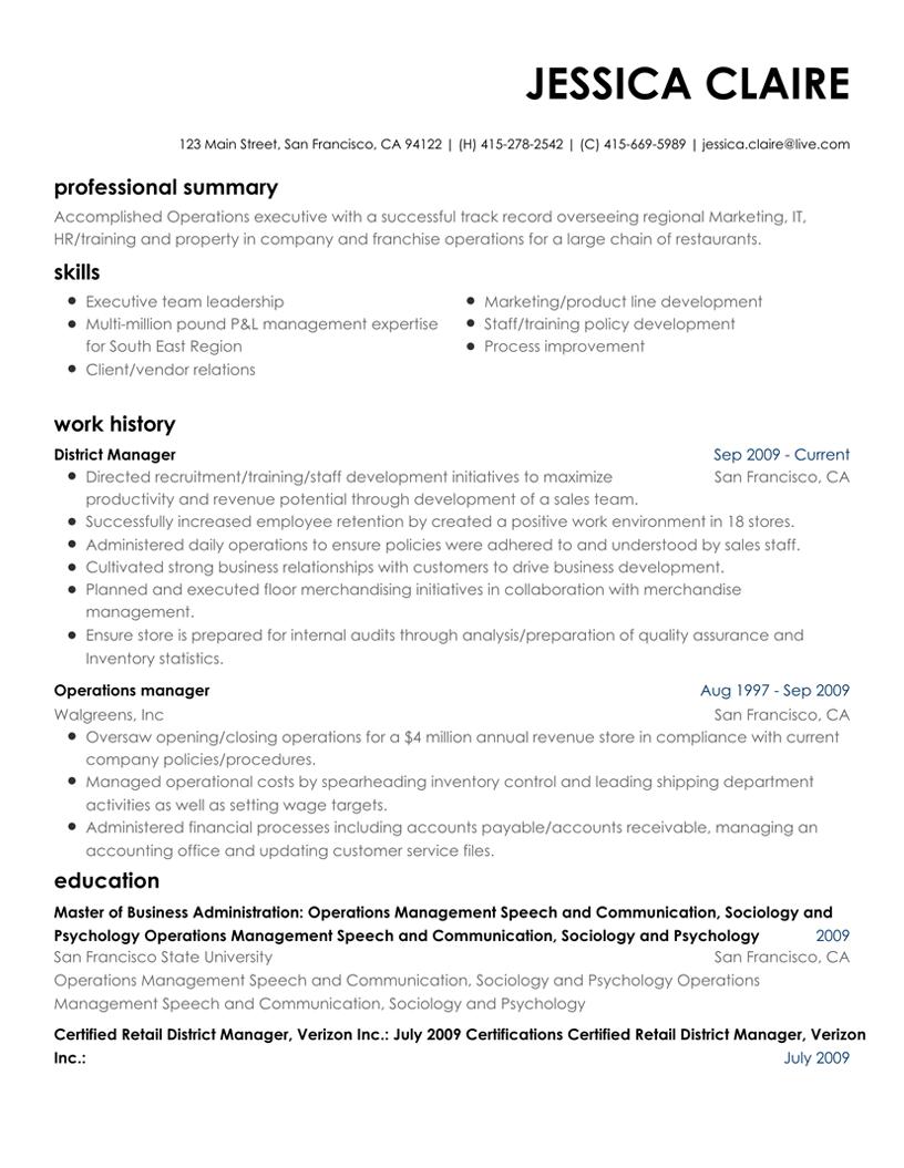 resume builder in pdf