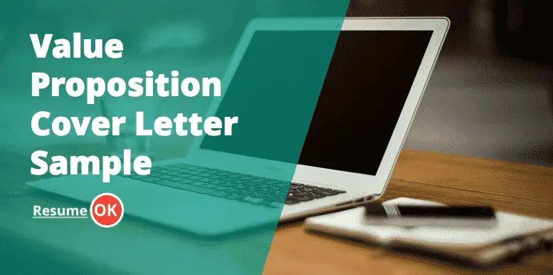 sample value proposition for resume