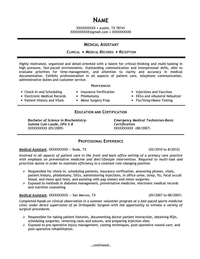 Student Resume Samples - Resume Prime - assistant dean of students resume