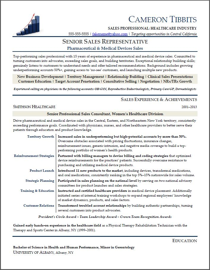 sales resume examples 2014