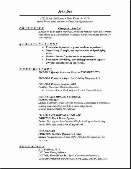 it analyst resumes - Selol-ink - production analyst sample resume