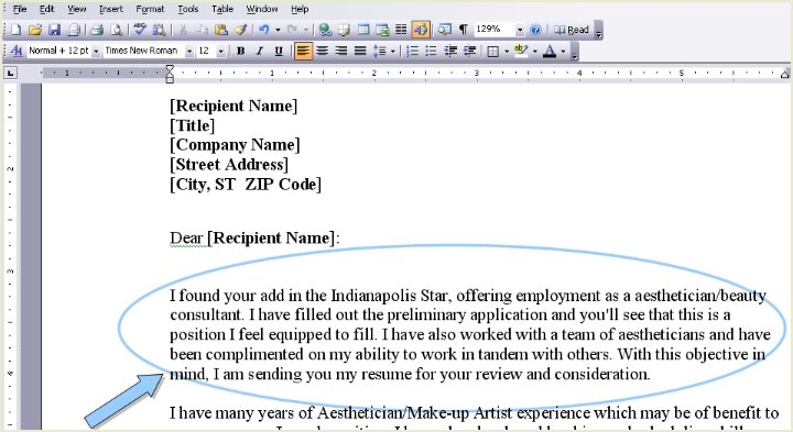Cover Letter Start. Grand How To Start A Cover Letter Without Name