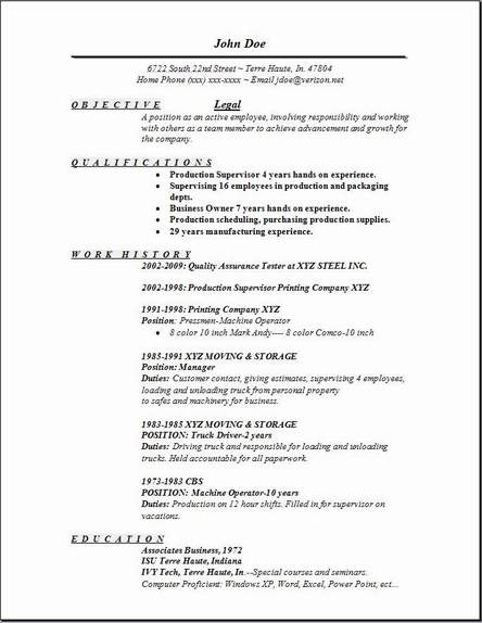 Legal Resume, Occupationalexamples,samples Free edit with word - Resume For Legal Secretary