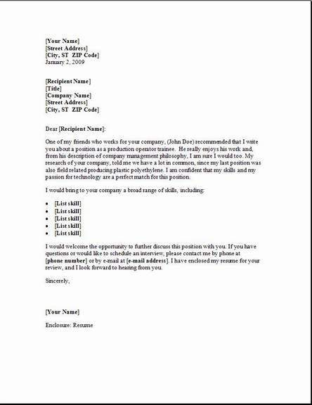 Material Handler Cover Letter, Occupationalexamples,samples Free