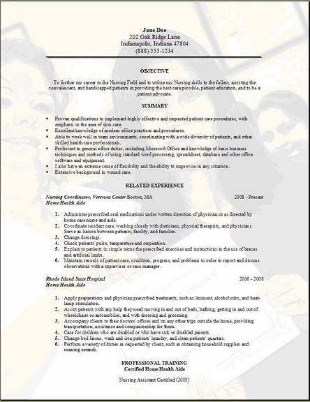 nature essay conclusion nurse aide resume template research - home health aide resume sample