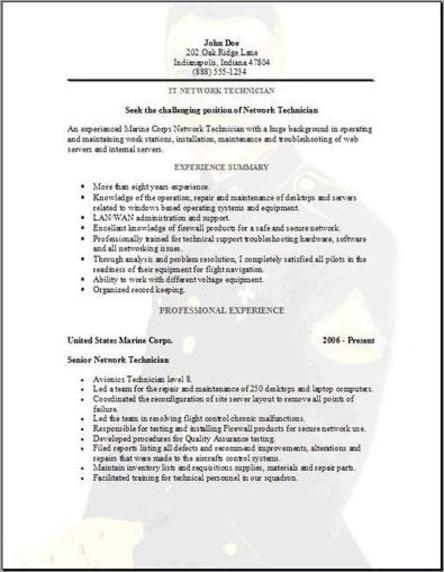 Military Resume, Occupationalexamples,samples Free edit with word