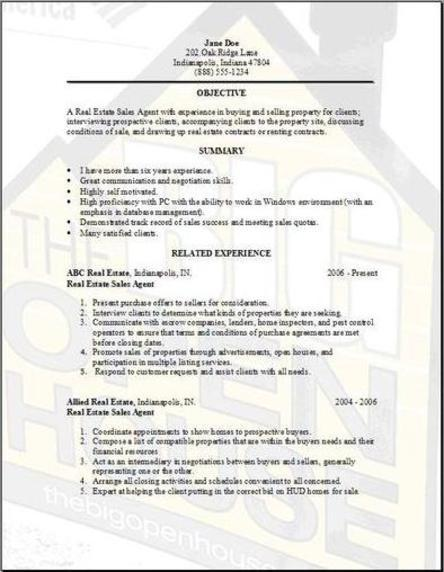 real estate resume templates free - Ozilalmanoof - review appraiser sample resume