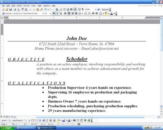 Organize Resume - how to organize a resume