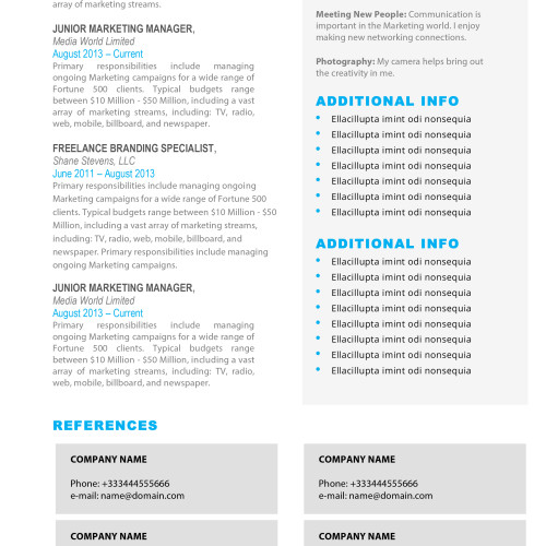 ✩Resume Templates for Mac (Word) \ Apple Pages Instant Download✩ - apple resume templates