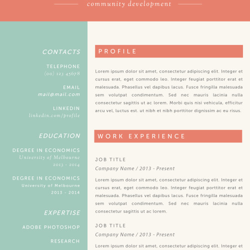 ✩Resume Templates for Mac (Word) \ Apple Pages Instant Download✩ - resume templates for pages mac