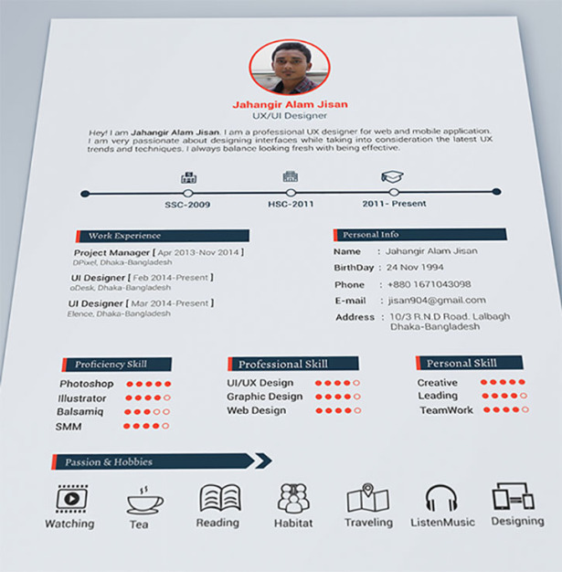 Layout Of A Resume Best Sample Resume Bsr Heres 27 Of The Most Creative Resumes Youll Ever See