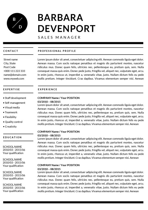 ✩Resume Templates for Mac (Word)  Apple Pages Instant Download✩