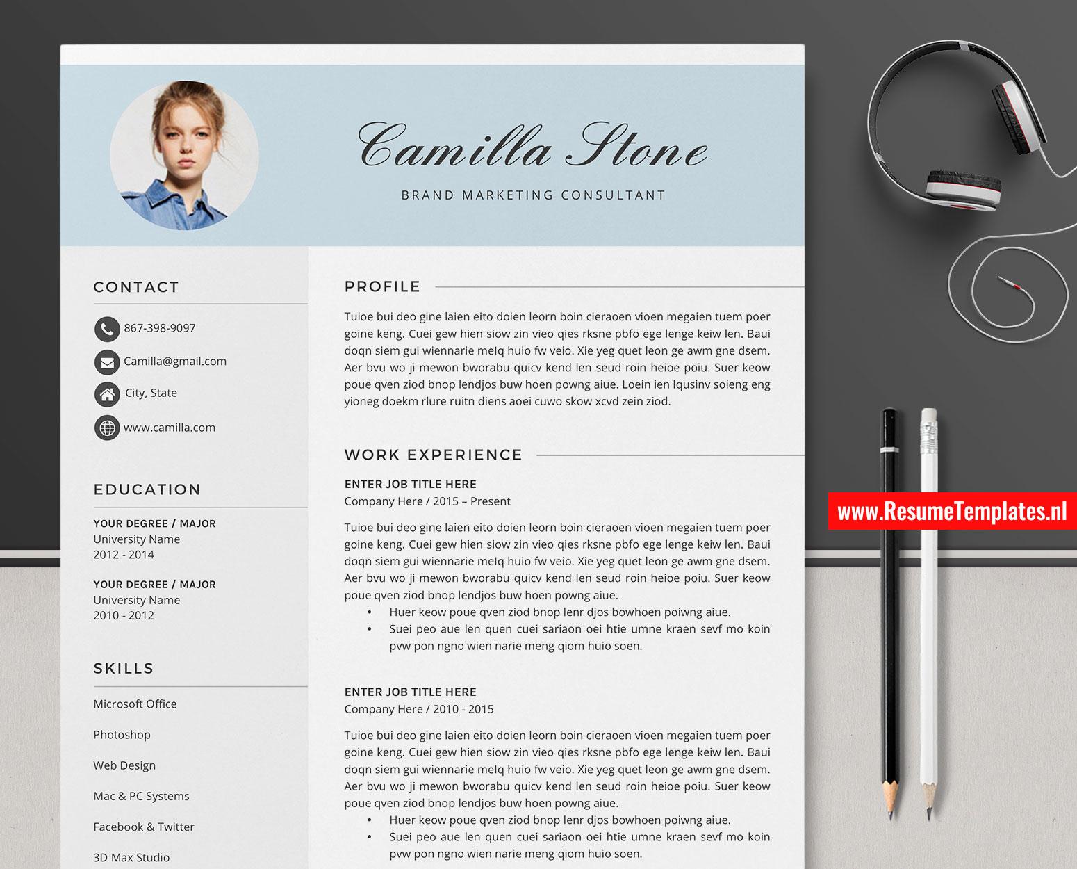 choosing resume template