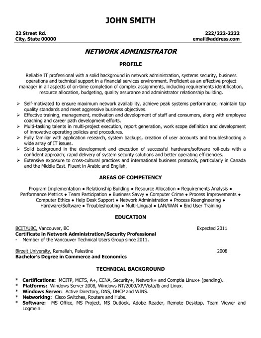 250 Free Resume Templates Collection In Word Pdf Format Network Administrator Resume Template Premium Resume